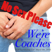 No Sex Please, We're Coaches
